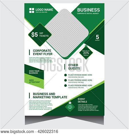 Corporate Creative Business Event Flyer Design Template