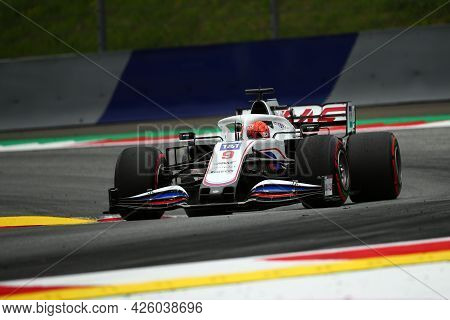 Spielberg, Austria. 2 July 2021.  Nikita Mazepin Of Haas F1 Team   On Track During Free Practice Of