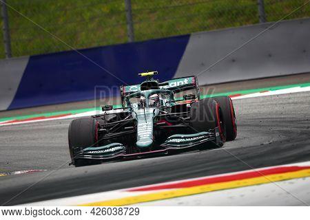 Spielberg, Austria. 2 July 2021.  Sebastian Vettel Of Aston Martin   On Track During Free Practice O