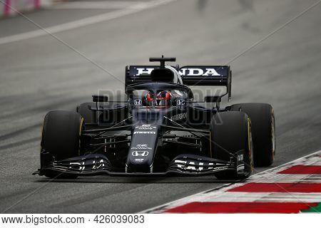 Spielberg, Austria. 2 July 2021.  Yuki Tsunoda Of Alpha Tauri   On Track During Free Practice Of   F