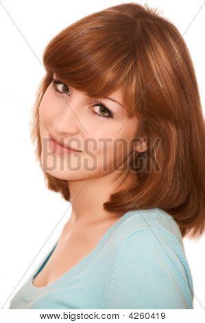 Smiling Young Beatiful Woman