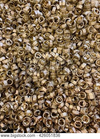 Brass Scrap Fittings An Alloy Of Copper And Zinc