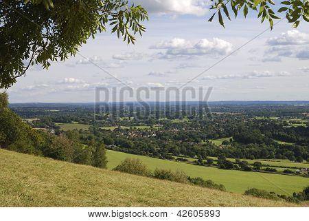 Surrey Countryside.Box Hill.Dorking.UK