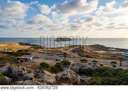 Yeronisos, Geronisos, Small Island Lying Of The West Coast Of Cyprus. Agios Georgios Island. Akamas.