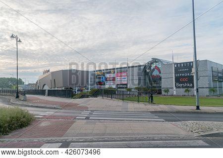 Gorzow Wielkopolski, Poland - June 1, 2021: Nova Park Shopping Mall.