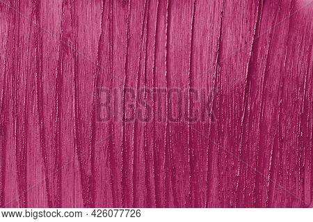 Marsala Beauty Product Sample Closeup. Purple Cosmetics Smear Pattern Background. Liquid Lipstick Co