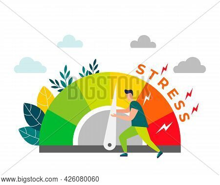 Relieve Stress. Stress Levels Are Reduced Through The Concept Of Problem Solving. Tired Of Frustrati