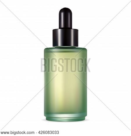 Serum Dropper Bottle. Eye Cosmetic Pipette Bottle. Collagen Essence Product Flask. Natural Aroma Oil