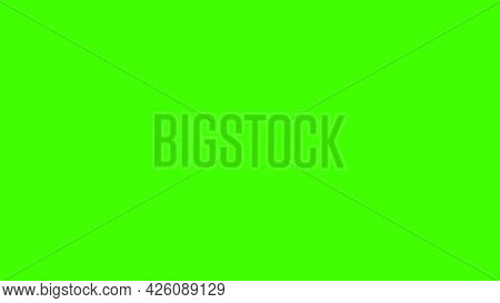 Green Background Hd. Wide Screen Webpage Or Business Presentation Abstract Background With Copyspace