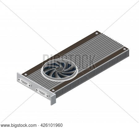 Single Video Card Of Digital Technology Video Electronic Equipment