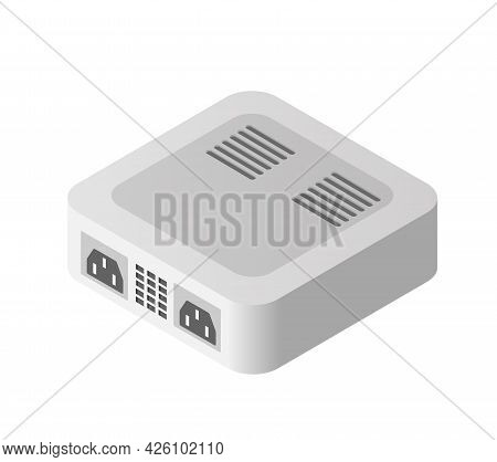 Single Server Power Supply Adapter Technology Of Connection Data