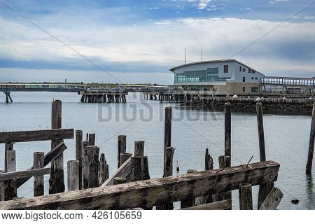 The Ocean Gateway Passenger Terminal Built In Portland, Maine