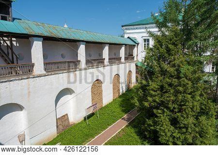 One Of The Corners In The Spaso-yakovlevsky Monastery In The City Of Rostov, Yaroslavl Region.
