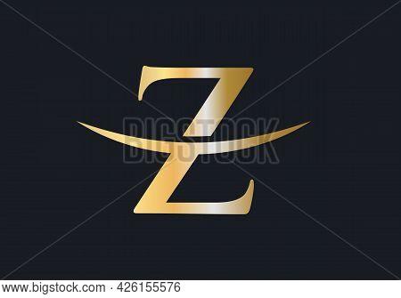Modern Z Logo Design For Business And Company Identity. Z Letter Logo Design