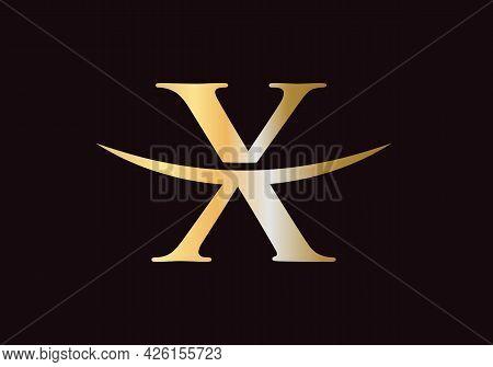 Premium Letter X Logo Design. X Letter Logo Design