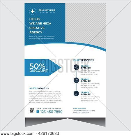 Creative Company Promotional Business Flyer Design Template