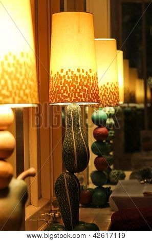 Conceptual Fruits And Vegetables Lamps