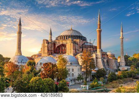 Hagia Sophia, Famous Landmark Of Istanbul, Turkey