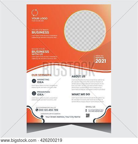 Creative Promotional Modern Business Flyer Design Template