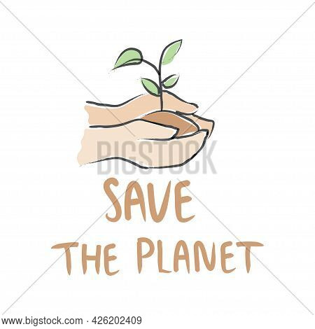 World Earth Day Concept Illustration