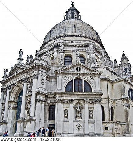 Basilica Di Santa Maria Della Salute, Venice, Italy,