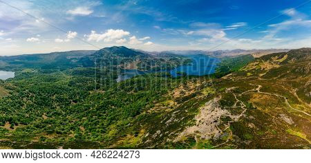 Ben A'an hill and the Loch Katrine in the Trossachs, Scotland