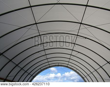 Tension Polyethylene Fabric Tent For Outdoor Storage Or Event