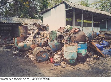 Pile Of Waste, Junk Pile, Garbage Removal Hazardous Waste