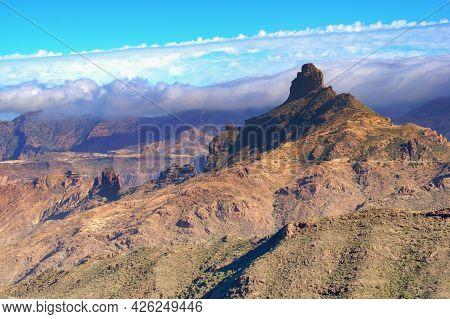 Hiking Area Roque Bentayga, Gran Canaria, Canary Islands, Spain