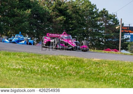 July 03, 2021 - Lexington, Ohio, USA: JACK HARVEY (60) of Lincoln, England practices for the Honda Indy 200 at Mid-Ohio at Mid Ohio Sports Car Course in Lexington, Ohio.