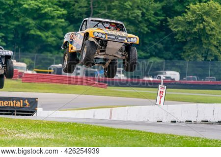 July 02, 2021 - Lexington, Ohio, USA: Mid Ohio Sports Car Course plays host to the Honda Indy 200 at Mid-Ohio in Lexington, Ohio.