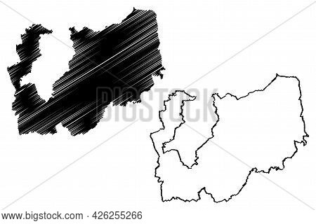Darmstadt-dieburg District (federal Republic Of Germany, Rural District Darmstadt Region, State Of H