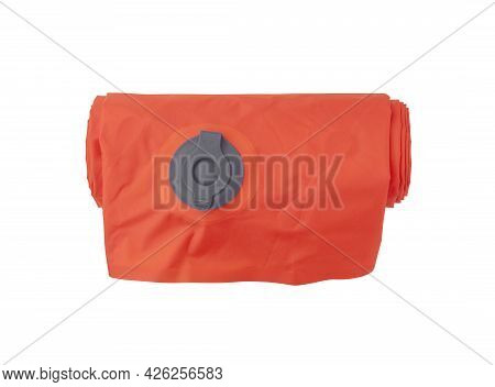 Folded Self Inflating Sleeping Mat For Camping With Air Valve