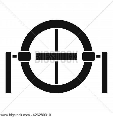 Gravity Model Icon Simple Vector. Accelerometer Gyroscope. Gyro Sensor