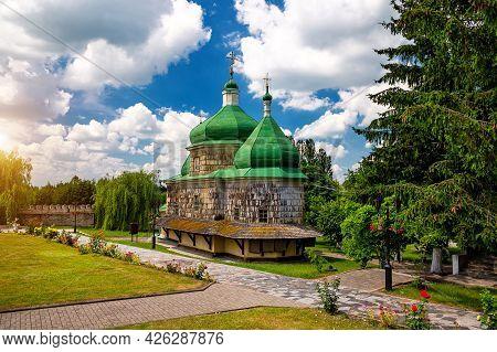 Wood Church Saint Michael's In Plyasheva - Battle Of Berestechko Place.