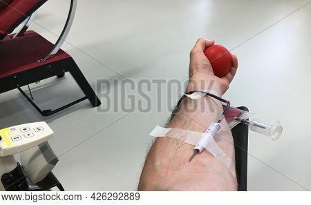 The Procedure Of Voluntary Blood Donation In The Blood Donation Foundation Srk Ostschweiz (freiwilli