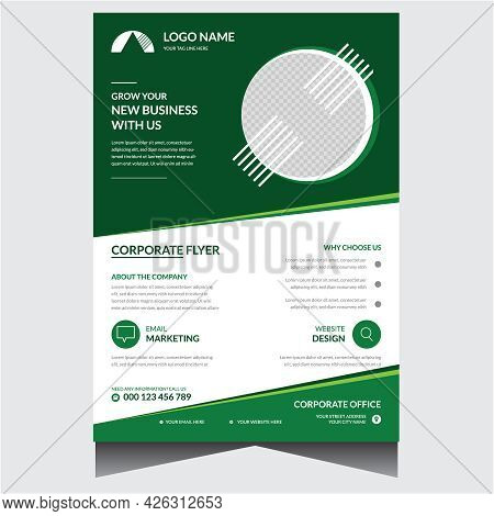 Special Green Corporate Business Flyer Design Template