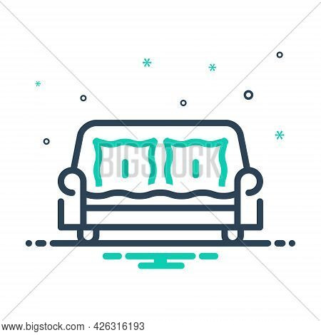 Mix Icon For Sofa Couch Divan Settee Comfortable Furniture