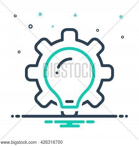 Mix Icon For Methodologies Brainstorm Plan Ideas Creativity Inspiration