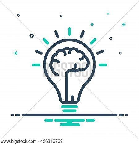 Mix Icon For Mindset Mentality Motivation Creativity Mind