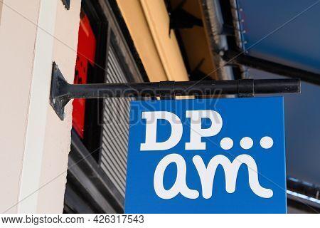 Montpellier , Ocitanie France  - 06 30 2021 : Dpam Brand Text And Logo Sign Of Du Pareil Au Même Chi