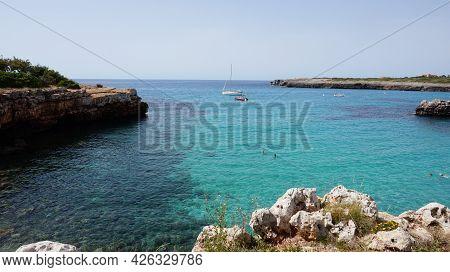 Dit Is Een Foto Van De Zee Genomen In Palma De Mallorca.