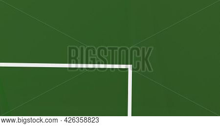 Penalty Area Playing Field For Football Soccer Sport Game