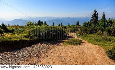 View From A Mountain Road. Mala Fatra, Slovakia.