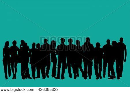 Business People Silhouette Set Of 16 Unique High-detailed Silhouettes Featuring Beautiful Models