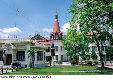 Bangkok, Thailand - May 1, 2017 : The Phya Thai Palace Or Royal Phya Thai Palace (phra Ratcha Wang P