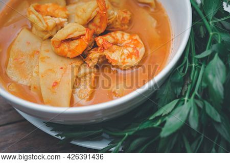 Southern Spicy Yellow Thai Curry (gaaeng Leuuang)