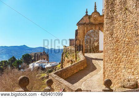 Puerta De Felipe V Historic And Artistic Center Of Ronda, Spain