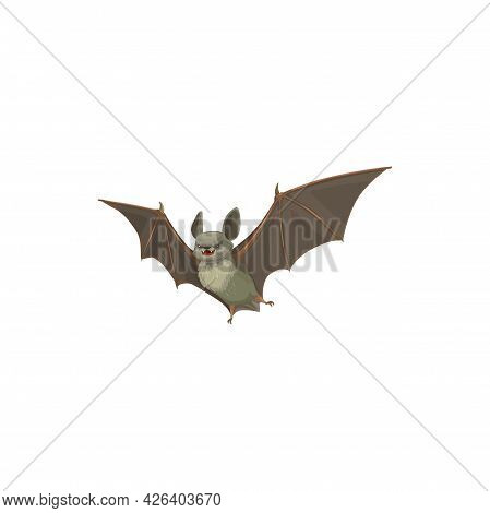 Bat Icon, Pest Control Extermination And Disinfection Service, Vector. Domestic Sanitary Bat Disinfe