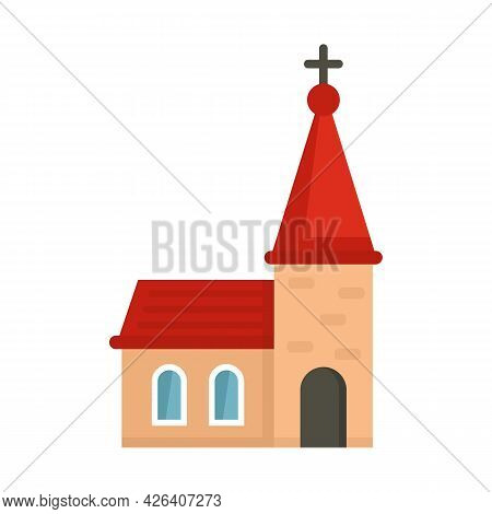 Religion Church Icon. Flat Illustration Of Religion Church Vector Icon Isolated On White Background